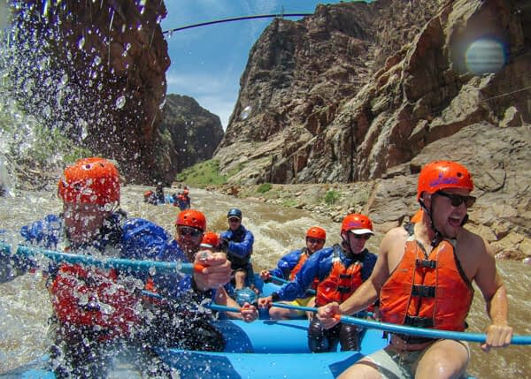 Royal Gorge rafting trips with Echo Canyon River Expeditions