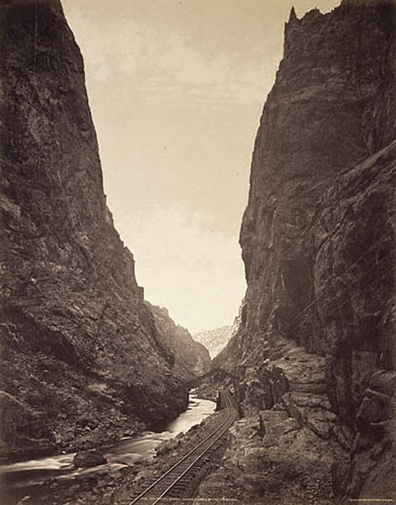 Royal Gorge historical view
