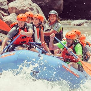 Royal Gorge rafting coupons available everyday at Echo Canyon