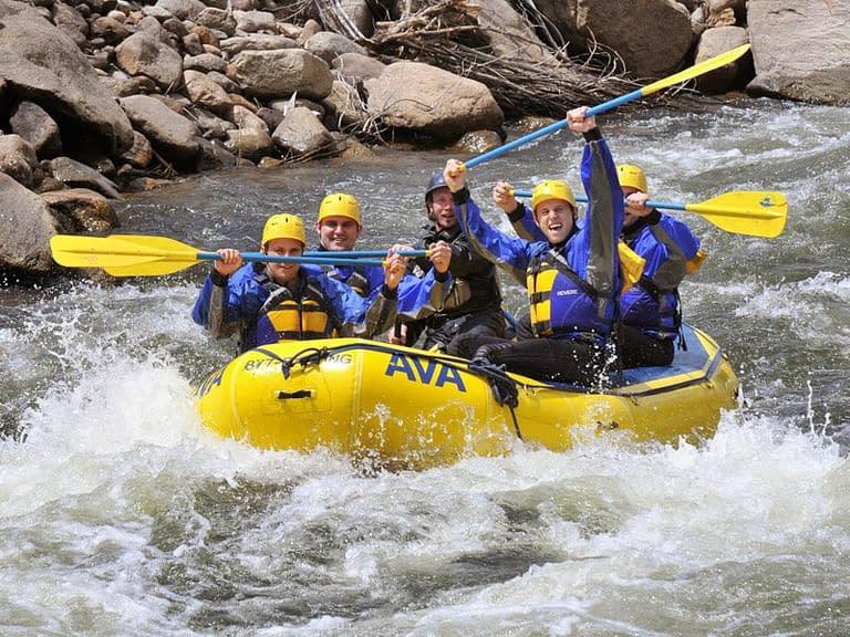clear creek beginner intermediate rafting