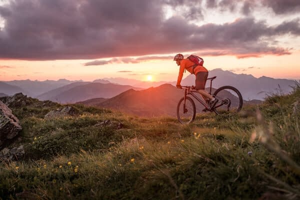 mountain biking in the colorado mountains