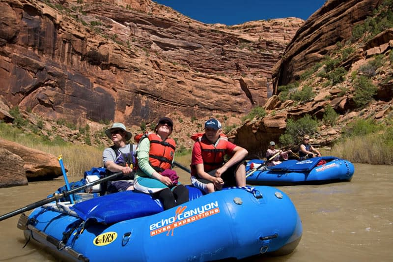Dolores River rafting trips