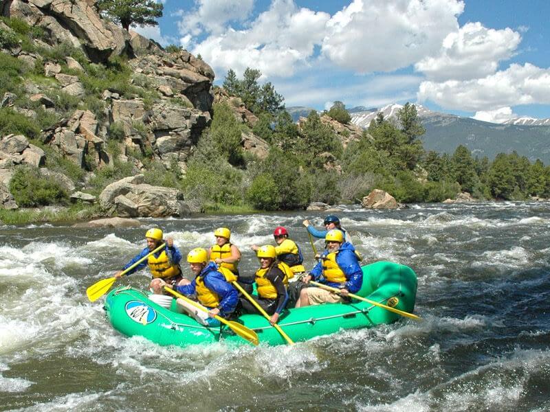browns canyon rafting trip