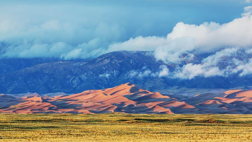 Sand Dunes Panorama