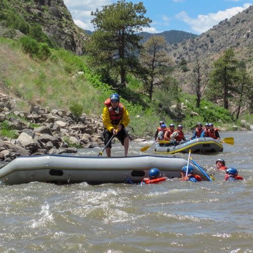 Guides training at Echo Canyon