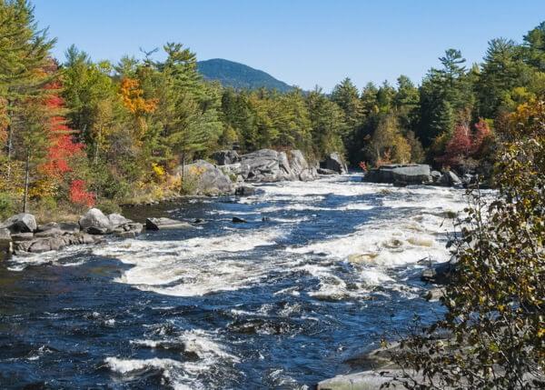 Penobscot River in Maine