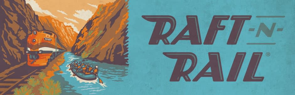 Raft and Rail train and rafting package