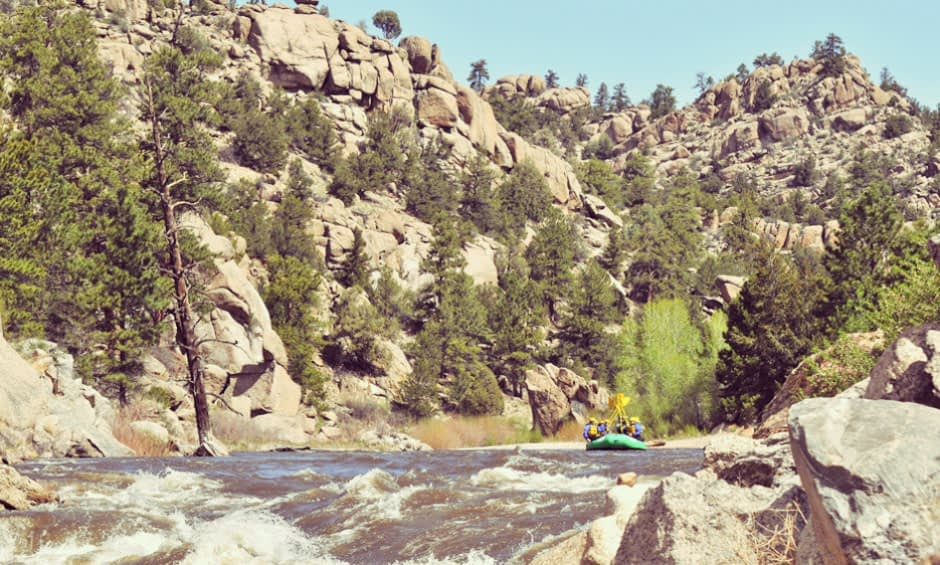 Browns Canyon Rafting offers incredible views for guests