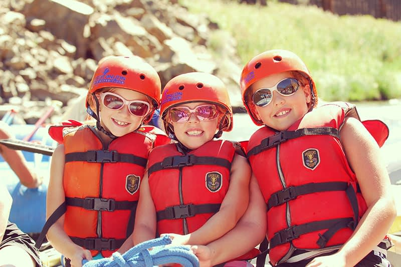 family-friendly rafting trips available