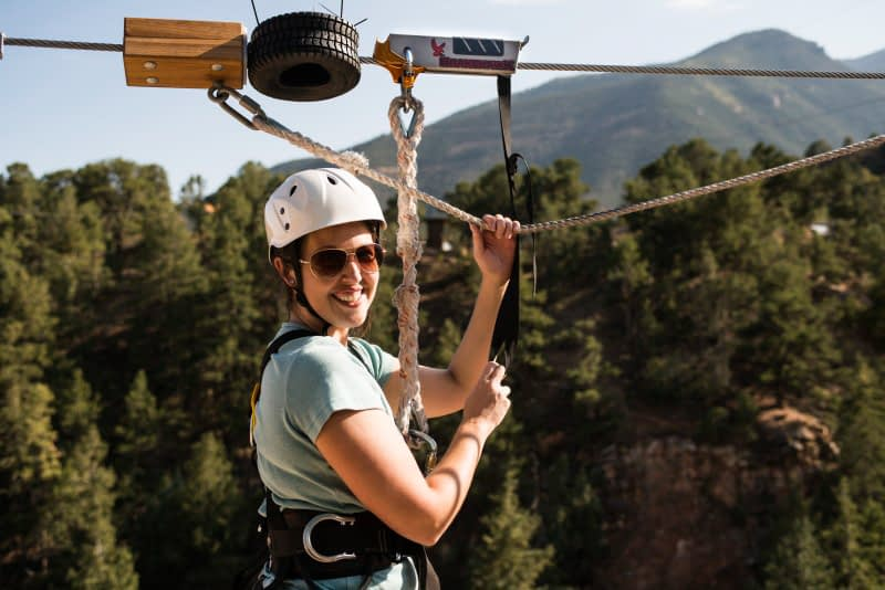 Zip line Colorado with Echo Canyon and Adventures Out West