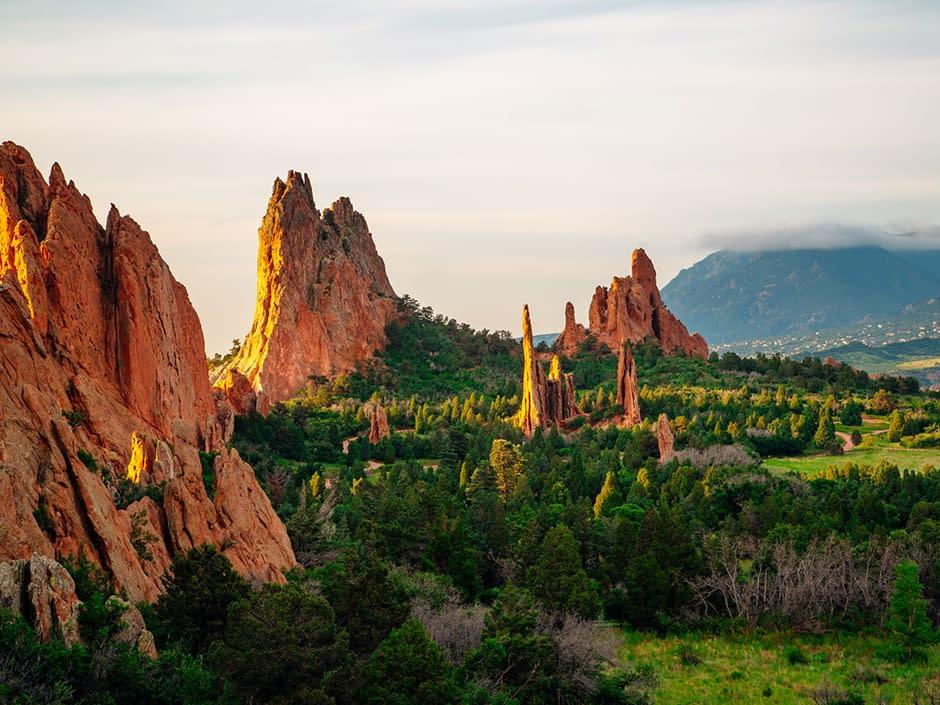 Garden of the Gods in Colorado Springs