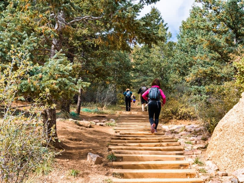 Manitou Sorings Incline Trail