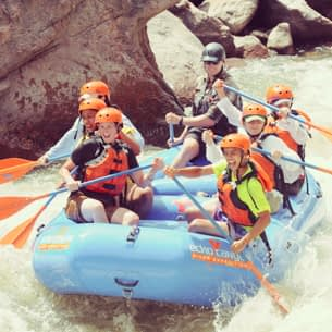 Rafting the Royal Gorge with Echo Canyon