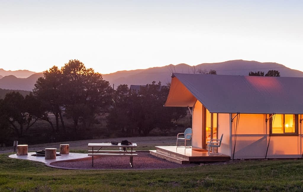 Glamping in Colorado with Echo Canyon and Royal Gorge Cabins