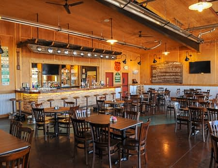 8 Mile Bar & Grill indoor seating