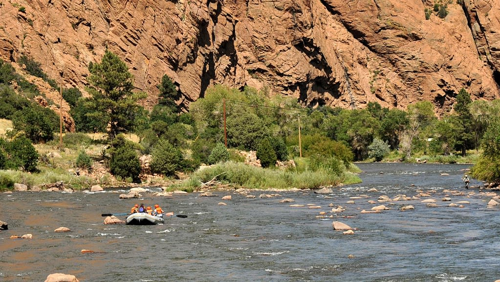 gentle family float trips at Echo Canyon River Expeditions
