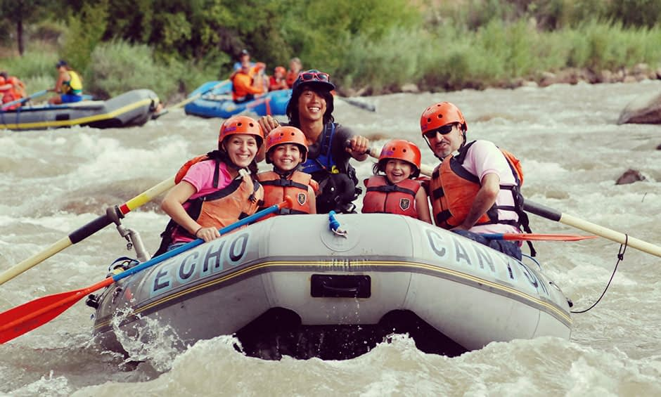 Bighorn Sheep Canyon rafting near Colorado Springs
