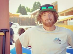 Echo Canyon Raft Guide Freddy
