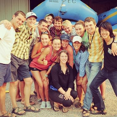 Raft Guide Training Class