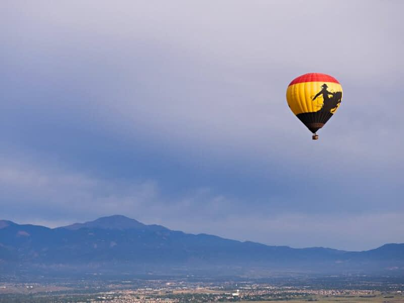 Hot air ballooning with Adventures Out West