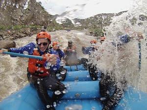 white water rafting, royal gorge rafting