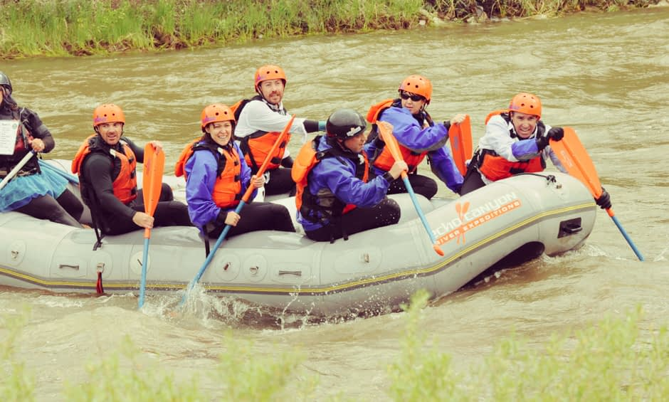 T-Paddle - Echo Canyon's Signature Team Building Experience - Battle of the Bighorn