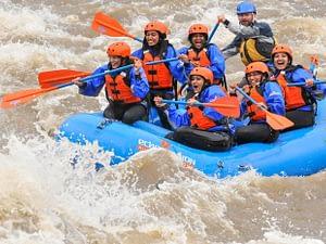 ladies raft trip - bachelorette party